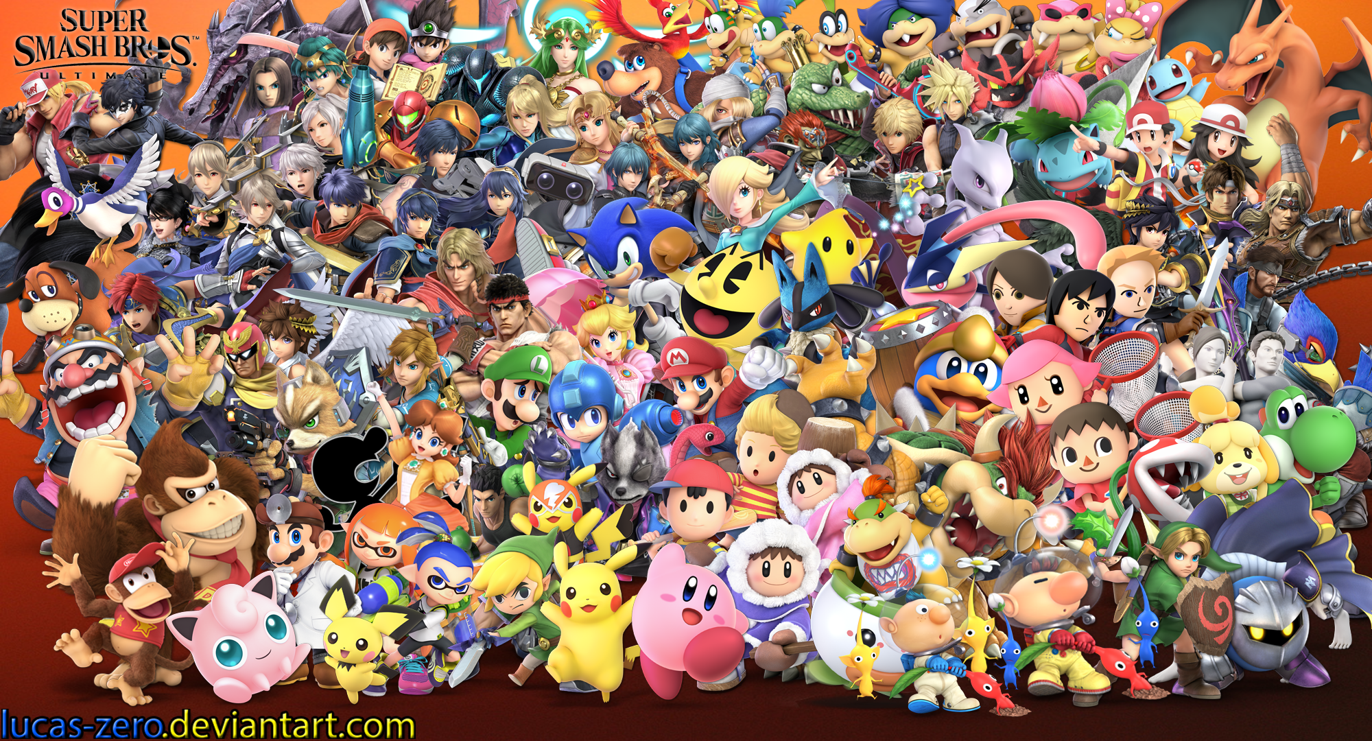 Super Smash Bros Ultimate Wallpaper By Lucas Zero On Deviantart