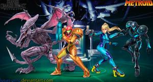 Metroid Super Smash Bros. Ultimate Wallpaper