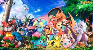 Pokemon Super Smash Bros. Ultimate Wallpaper