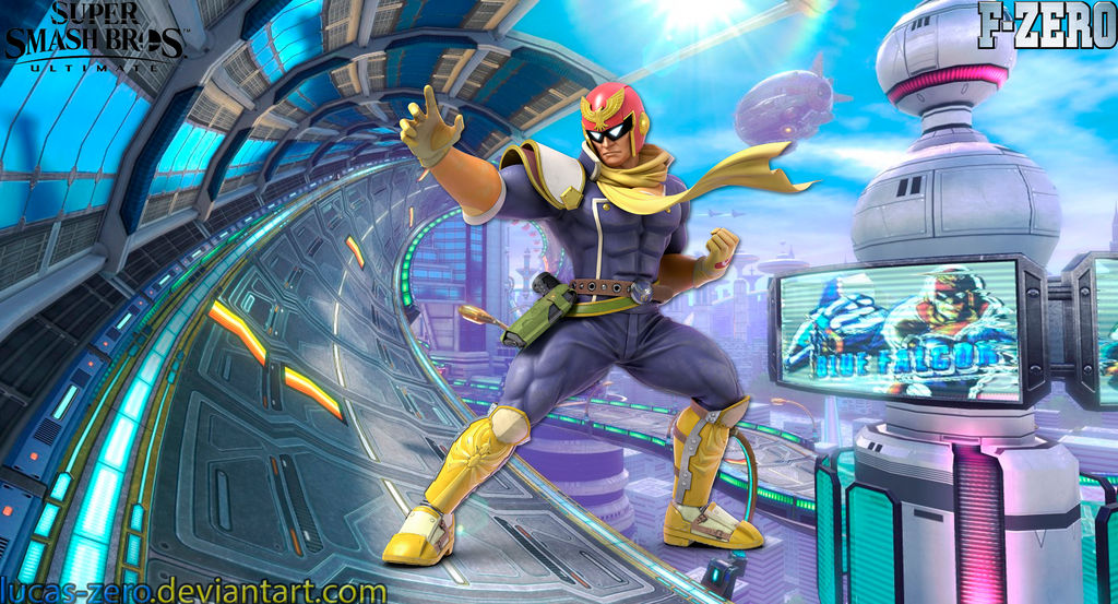 F-Zero Super Smash Bros  Ultimate Wallpaper by Lucas-Zero on