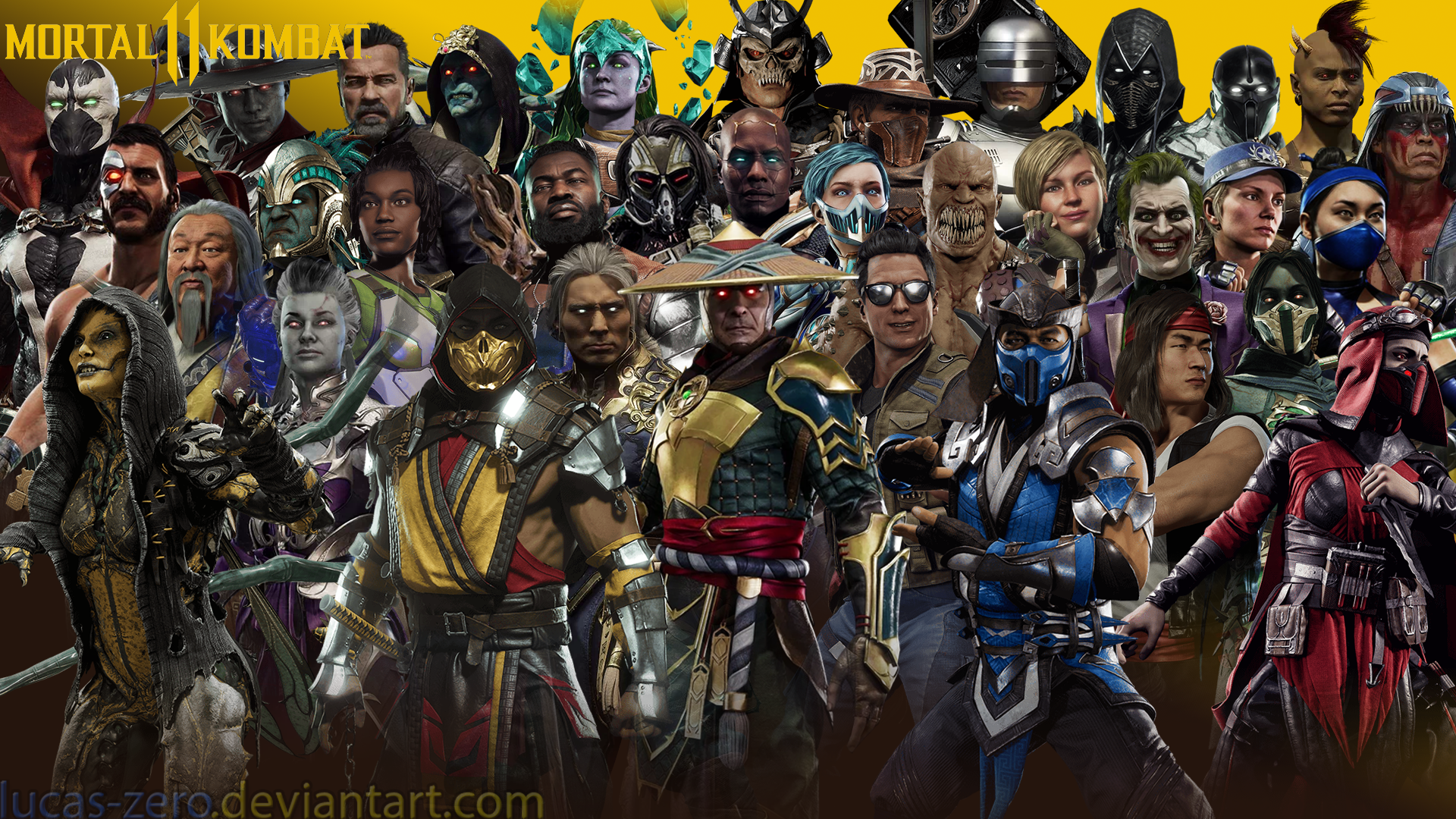 Mortal Kombat 11 Wallpaper By Lucas Zero On Deviantart