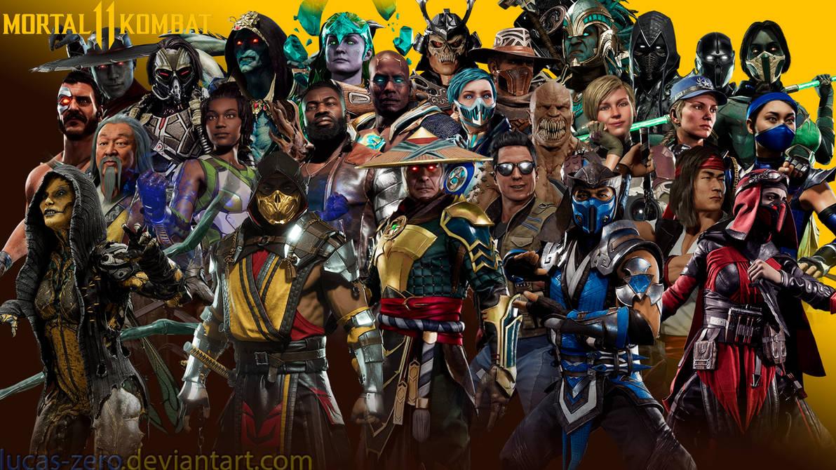Mortal kombat 11 wallpaper by lucas zero on deviantart - Mortal kombat 11 wallpaper ...