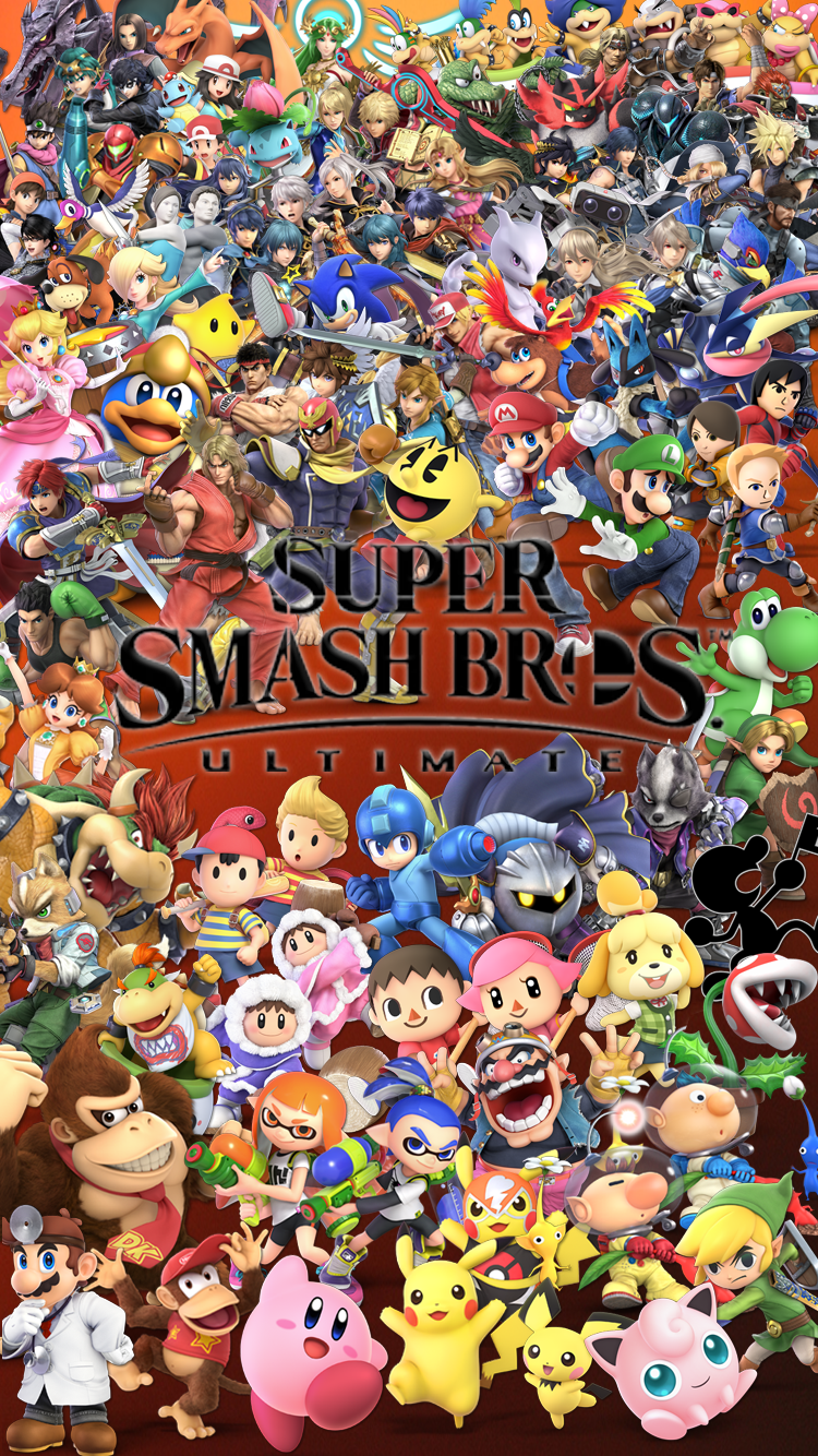 Super Smash Bros Ultimate Mobile Wallpaper By Lucas Zero On Deviantart