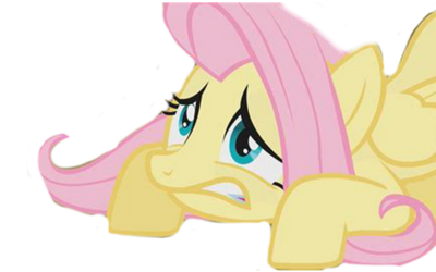 Scared Fluttershy  by That-Last-Guardian
