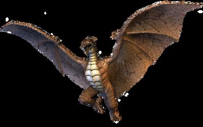 Fire Rodan by DragonesSaurusRex