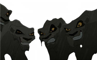 Outsider lionesses