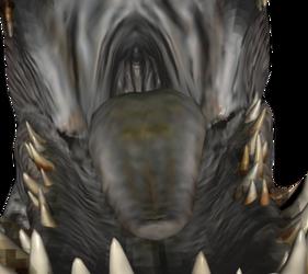 Indominus Rex jaws by StrangeAddict