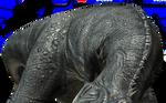 Majungasaurus eating
