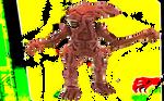 Red alien queen