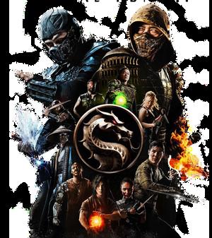 Mortal Kombat 2021 render