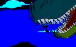 T. rex snout