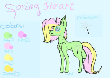 Spring Heart colour refrence by Arya9118