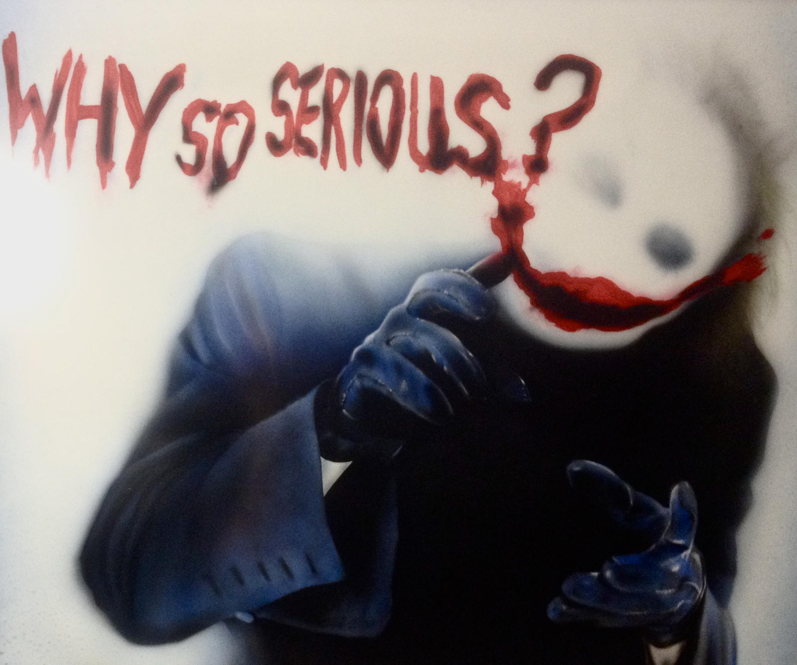 why so serious by getslicked on deviantart