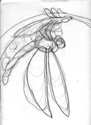Dragonfly Final Instar by Hock