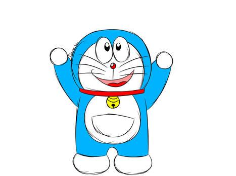 Little Doraemon Doodle