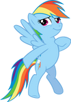 Rainbow Dash Vector #2