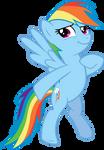 Rainbow Dash Vector #2