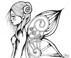 L anatomie du papillon belier