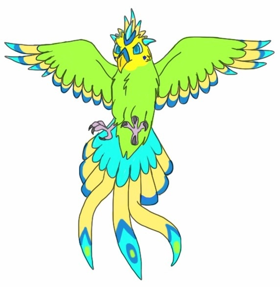 4 points Phoenix Budgie adopt CLOSED by EagleAdopts on