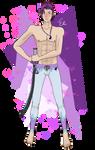Swimsuit Gakupo by Pikachoo654