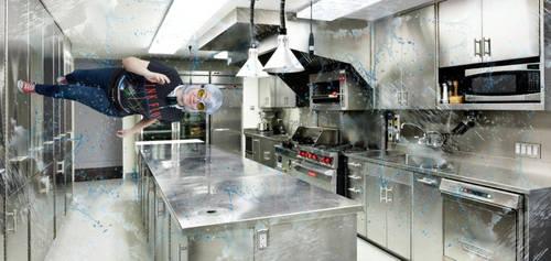 QuickSilver Cosplay: Kitchen Scene