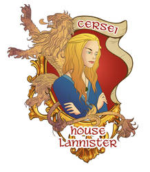 Cersei Lannister by lizgigg
