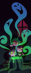 Little Witches by lizgigg