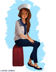 Sailor girl by lizgigg
