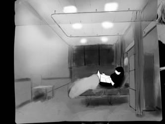 Hospital room wip by Tygenja