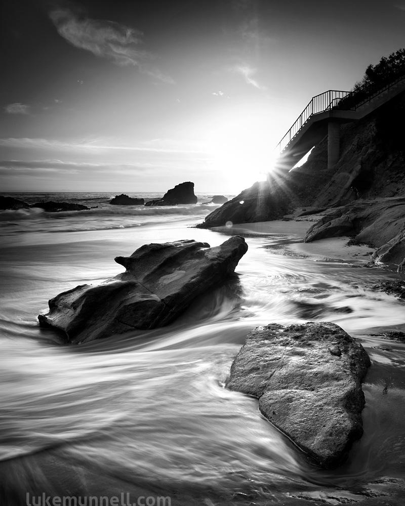 Diamond Street Rocks and Stairs | Laguna Beach, CA by LukeMunnell