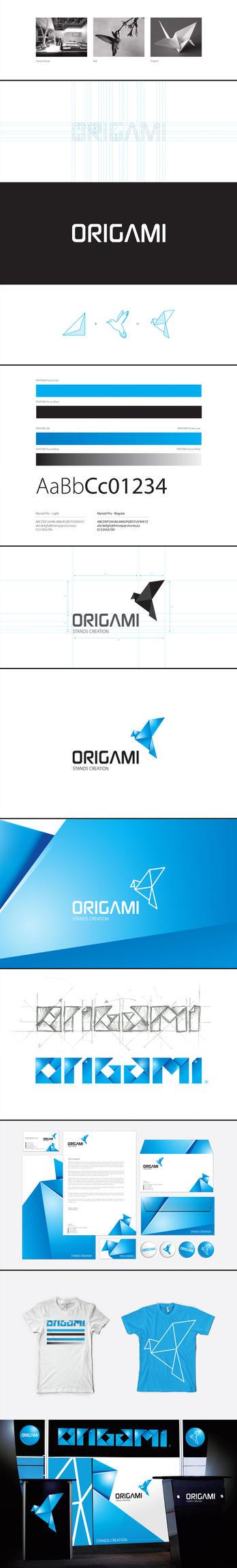 Origami Identity by BACEL