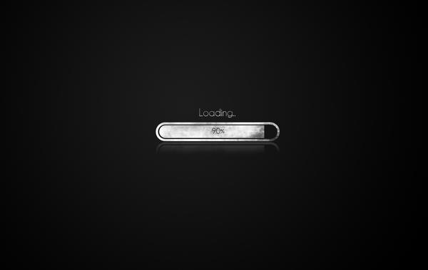 'Loading' Wallpaper by Twilease