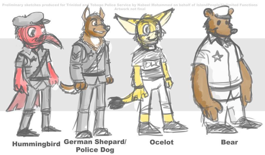 Unused Mascot Designs by greatwuff