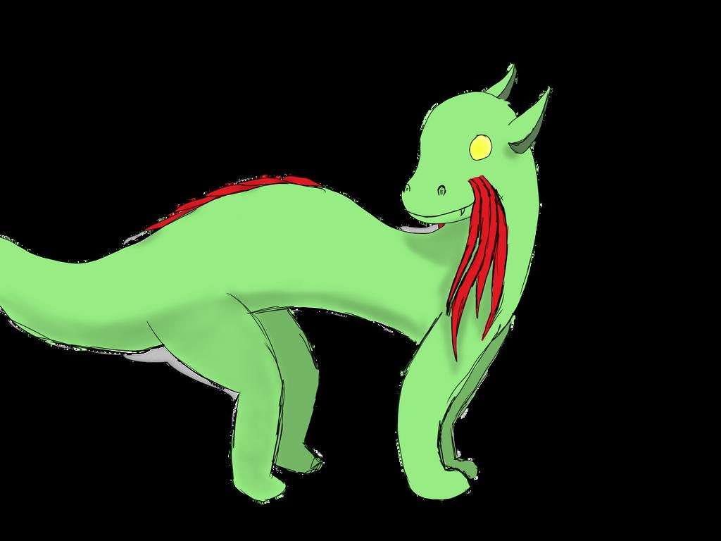Day 2: Kibi the Alien Lizard by StormDragon21
