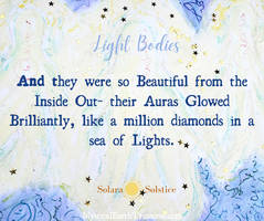 Light Bodies with Text