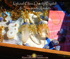 Intuitive Alignment Amulets by Solara Solstice