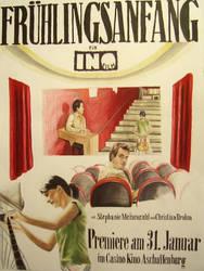 Fruehlingsanfang Poster