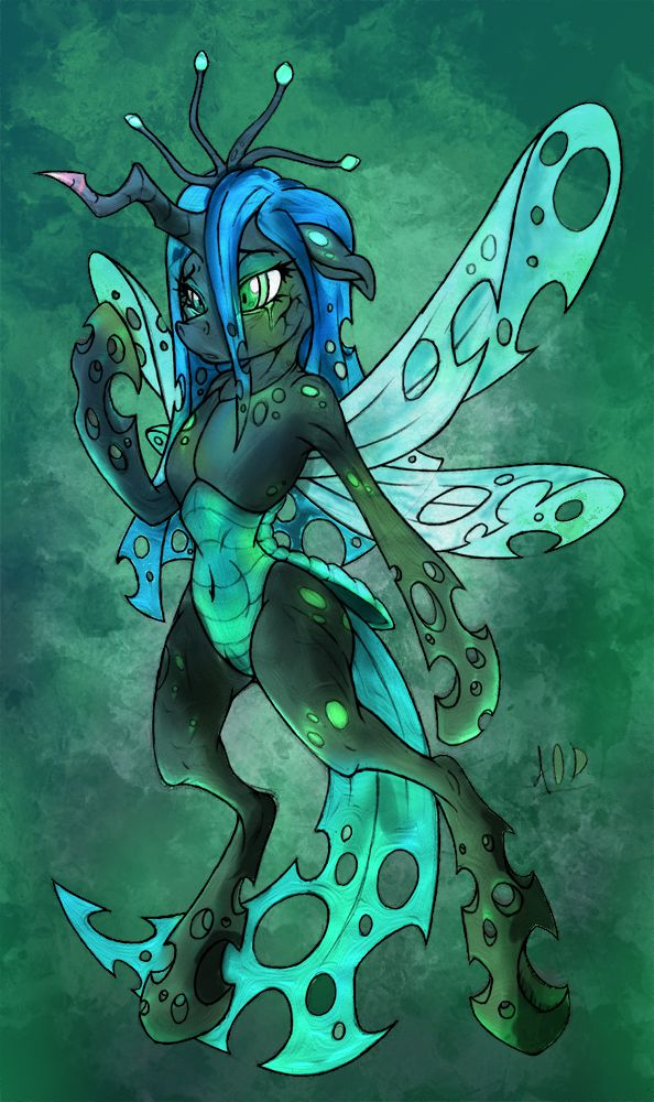 Disfigured Chrysalis by firebird145