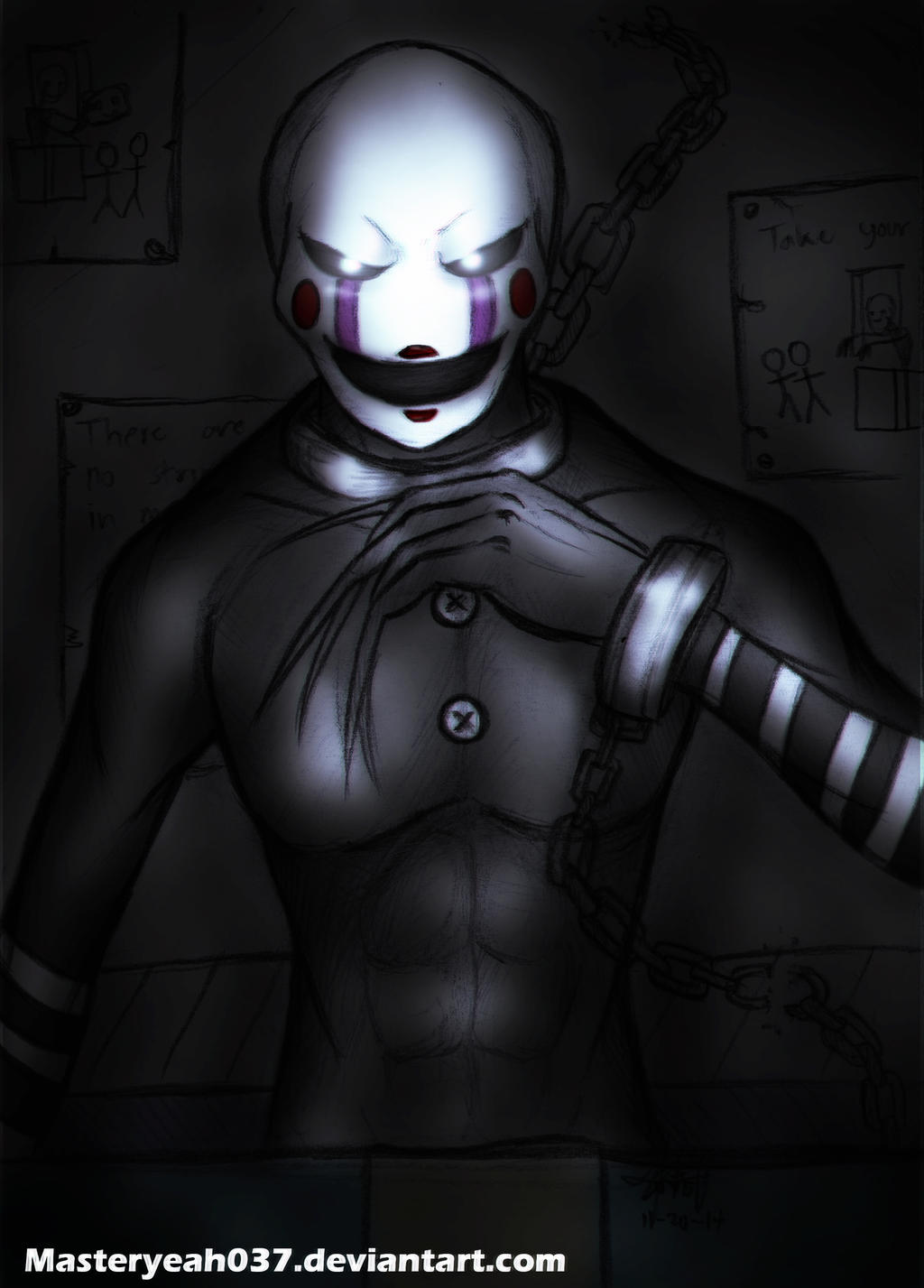 Marionette the puppet fnaf2 by
