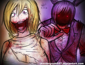 Chica and Bonnie-Five Nights at Freddy's 2
