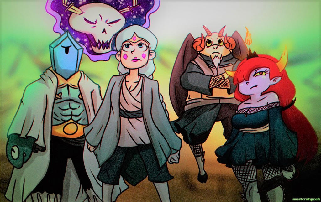 Star vs Crossover - The Five Kage by MasterOhYeah