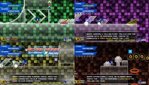 (Sonic vs Darkness TNR) Tutorial Stage by Kainoso