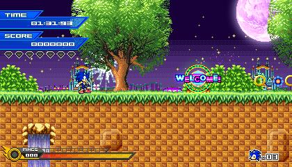 (Sonic vs Darkness TNR) Nightlite Paradise Mockup by Kainoso