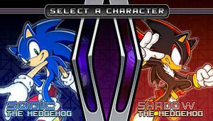 (Sonic vs Darkness TNR) Character Select Menu by Kainoso