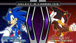 (Sonic vs Darkness TNR) Character Select Menu