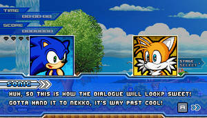 (Sonic vs Darkness) Dialogue Scene: Sonic/Tails by Kainoso