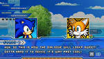 (Sonic vs Darkness) Dialogue Scene: Sonic/Tails