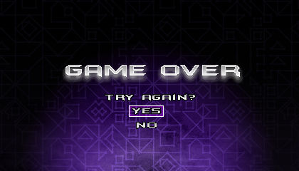 (Sonic vs Darkness) Game Over Screen