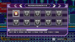 (Sonic vs Darkness) Achievements Menu by Kainoso