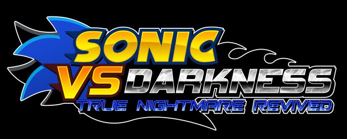 Sonic vs Darkness T.N.R. Logo [V2]